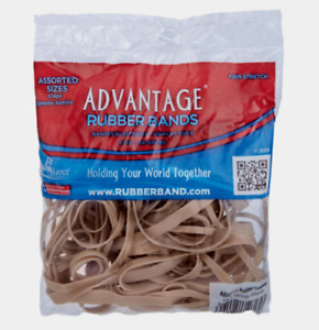 Alliance Rubber Bands Firm Stretch Assorted Sizes Office Home Business 2 Oz New