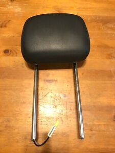 10 20 Grand Caravan Town Country Active Front Head Rest Headrest Black Leather