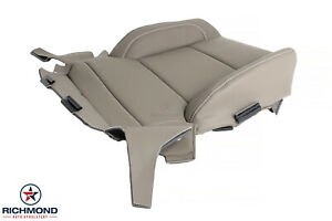 2015 2016 Chevy Tahoe Suburban Ltz driver Side Bottom Leather Ac Seat Cover Tan