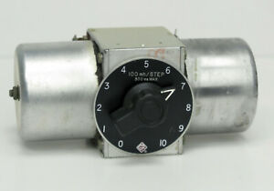 Gr General Radio 940 g Single Decade Inductor 100 Mh step