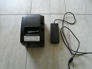Star Micronics Tsp650ii Usb Thermal Printer Auto Cutter W Power Supply