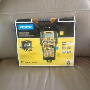 Dymo Industrial Rhinopro 6000 Professional Label Maker With Pc Conet 1734519