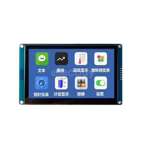 New 4 3 Inch Hmi I2c Tft Lcd Display Module Capacitive Touch Screen For Arduino