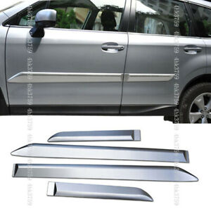 Fit For Subaru Forester 2013 2018 Abs 3d Side Body Molding Trim Cover 4pcs