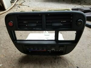 T1 96 98 Civic Oem Center Dash Climate Control Ac Air Vent Radio Bezel Trim