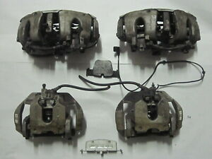 2007 2008 2009 Mercedes S63 Amg W221 Set 4 Front Rear Left Right Brake Calipers