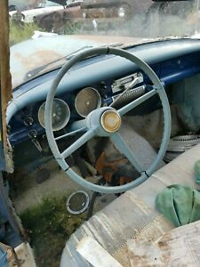 1955 Studebaker Champion 4dr Steering Wheel W horn Button