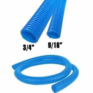 Blue High Temperature Split Loom Tubing Protective Wire Or Cable Sleeve Size Lot
