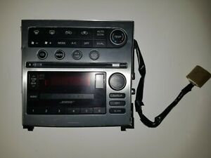 Used 05 07 Infiniti G35 Radio Mp3 Player Changer Ac Pp 2665d Control Panel Oem
