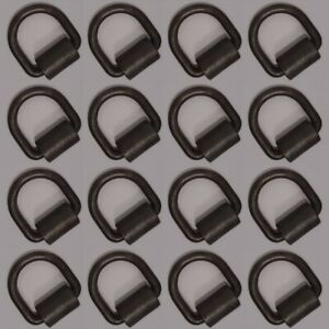 16 Weld on 1 2 D Rings Tie Down Cargo Flatbed Truck Trailer Ratchet Strap Ring