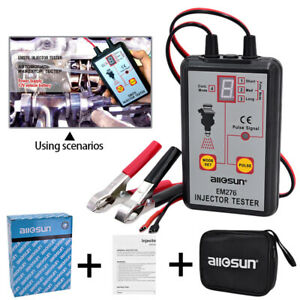 All Sun Em276 Injector Diagnose Tester 4 Pluse Mode Powerful Fuel System Scanner