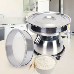 Electric Flour Sifter Automatic Sieve Shaker Machine screen Deck For Powder 8cm