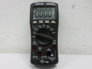 Matco Tools Advanced Auto ranging True Rms Multimeter No Leads Md319 Working