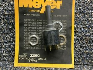 Meyer Snow Plow Single Lever Controller 22092