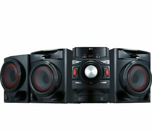LG XBOOM CM4590 700W 2.1ch Bluetooth CD Player Speaker System with Subwoofer