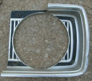 1967 Dodge Dart Lh Headlight Bezel 67 Only Gt