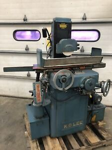 K O Lee Hydraulic Surface Grinder 6 x12 Magnetic Chuck Coolant Ko Lee Toolroom