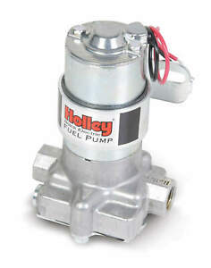 Holley 12 815 1 Fuel Pump Electric Rotor Vane Black External Gas Alcohol