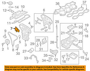 Nissan Oem 09 18 Gt R 3 8l V6 Engine Access Cover Right 13040jf06a