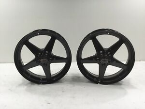 2005 19 Dark Star Direct Drill Gloss Black Wheel 18x5 2
