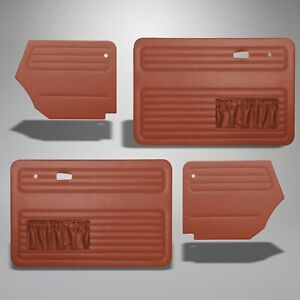 1967 1972 Vw Beetle Super Convertible Brick Red Door Quarter Panels 304947