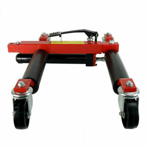 Hydraulic Jack Portable Tire Lift Car Move Positioning 4 Sets Move Truck
