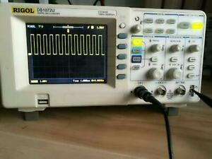 Rigol Ds1072u Digital Oscilloscope 2 Channel 70mhz