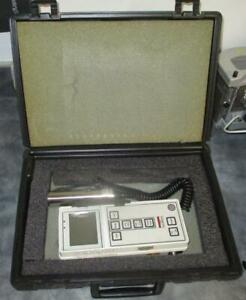 Victoreen Model 190 Battery Operated Survey Meter W 489 4 Geiger Probe
