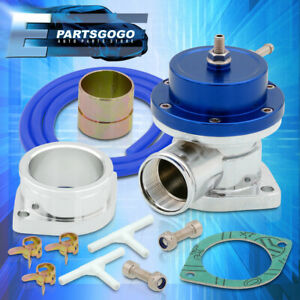 Universal Type S Blue Turbo Blow Off Valve Adjustable Psi Upgrade Replacement