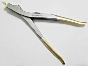 Cast Plaster Spreader 9 Three 3 Prongs german Gold Stainless First Aid Injury