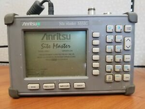 Anritsu Site Master S331c Cable Tester