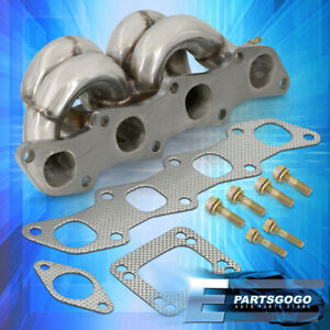 For 89 98 240sx S13 S14 Ka24 T3t4 Racing Top Mount Turbo Exhaust Header Manifold