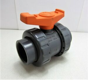 Fip 1 1 2 Pvc Ball Valve Socket New