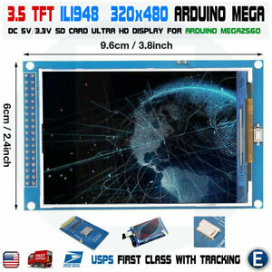 3 5 Inch Ili948 Tft Lcd Screen Module Ultra Hd 320x480 For Arduino Mega2560 Usa