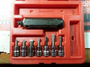 Snap On Tools 3 8 Dr Hand Impact Driver Set W Case