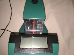 Acroprint Esp 180 Electronic Time Stamp Time Clock q7 Tested With Key
