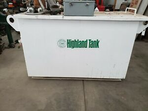 Highland Tank Oil Water Separator With Pump