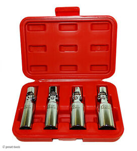 Sunex Universal Spark Plug Socket Set Swivel Sockets Automotive Tools