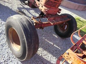 Farmall Ih 400 450 Tractor Wide Frontend Widefront 10 00 X 16 Float Tires Wghbar