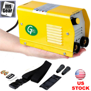Mini Electric Welding Machine Igbt Dc Inverter Arc Mma Handheld Welder 220v 200a