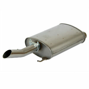 1pc Stainless Steel Quiet flow Muffler Exhaust For 00 05 Impala monte Carlo
