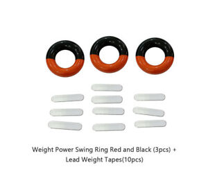 Posma SA010A Weight Power Swing Ring Lead Weight Tapes Golf Weight Training
