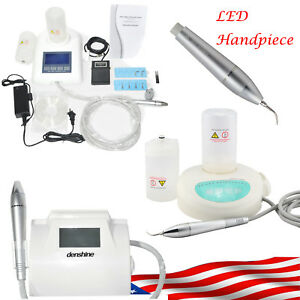Touchable Digital Display Dental Piezo Ultrasonic Scaler Led Handpiece Fit Ems