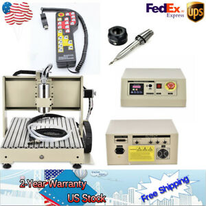 New 1500w 3axis 6040 Cnc Router Metal Engraver Machine Remote Controller Wood