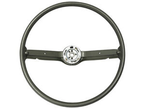 New 1968 69 Fairlane Steering Wheel 16 Ivy Gold 2 Spoke Mustang Comet Ford
