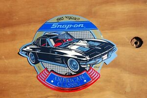 Vintage Snap On Tools 1965 Corvette American Classic Sticker Ssx 1527a