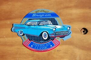 Vintage Snap On Tools 1957 Chevrolet American Classic Sticker Ssx 1476