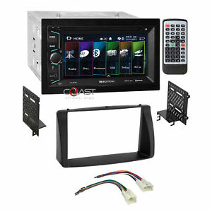 Soundstream Dvd Usb Bluetooth Stereo Dash Kit Harness For 03 08 Toyota Corolla