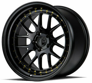 18x8 5 18x9 5 5x108 Aodhan Ds06 Gloss Black Made For Ford Volvo Jaguar