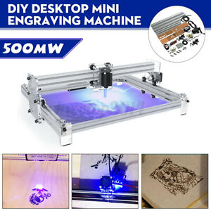 500mw Desktop Laser Engraving Machine Diy Logo Marking Printer Engraver 40x50cm